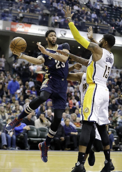 Teague, George help Pacers hold off Pelicans 98-95 The Associated Press