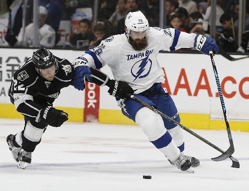 Ben Bishop comes up big while Lightning hold off Kings 2-1 The Associated Press
