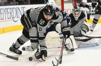 Los Angeles Kings Fall to Tampa Bay Lightning 2-1