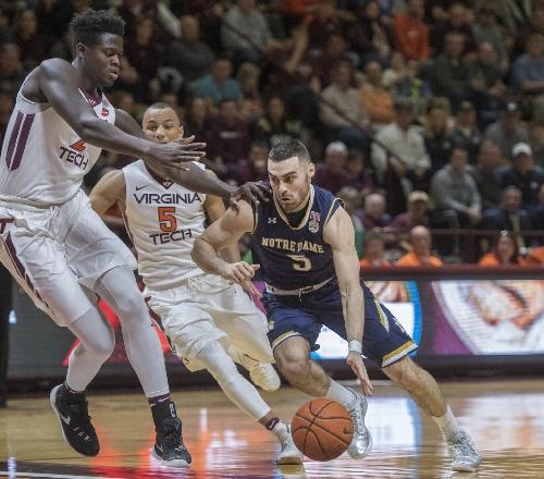 Notes: Matt Farrell's hustle drives Notre Dame men's basketeball team