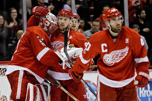 Red Wings' faith in Jared Coreau paying off