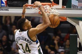 Bucks-Sixers Twi-lights: Watch Giannis throw down