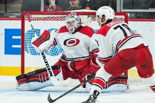 Hurricanes Recall Alex Nedeljkovic From Charlotte; Reassign Michael Leighton to Checkers