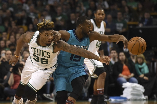 Hornets lose fifth straight, fall to Celtics 108-98