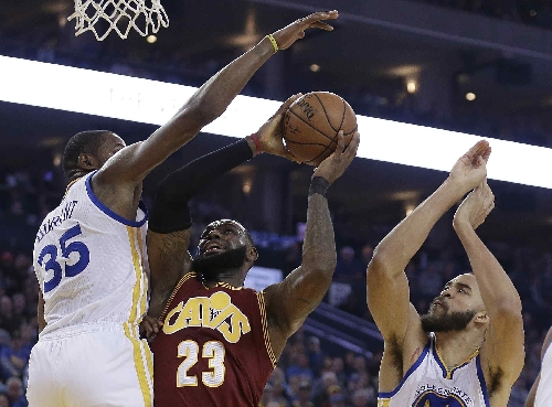 Golden State Warriors rout Cleveland Cavaliers, 126-91
