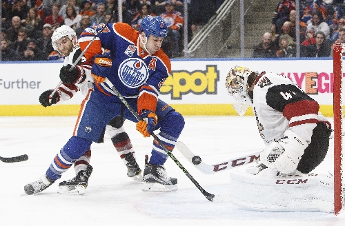 Lapses unravel Arizona Coyotes in loss to Edmonton Oilers