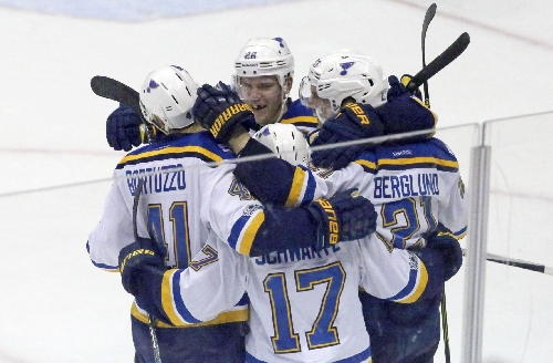 Armstrong isn't surprised by Blues' uneven play