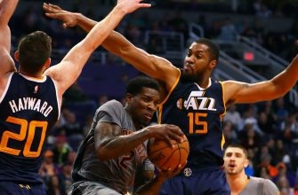 Jazz score final seven points to upend Suns