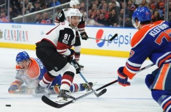 Coyotes lack 'emotional engagement' in loss to Oilers