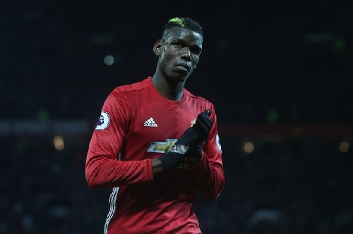 Manchester United player Paul Pogba names the three players who have influenced him