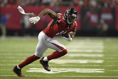 Report: Atlanta Falcons WR Julio Jones plans to just power through toe injury