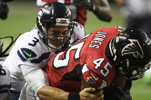 Key stats from the Falcons' 36-20 Divisional Round win over the Seahawks