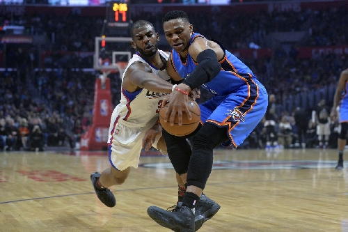 Oklahoma City Thunder dropped in MLK nightcap by surging Los Angeles Clippers 120-98