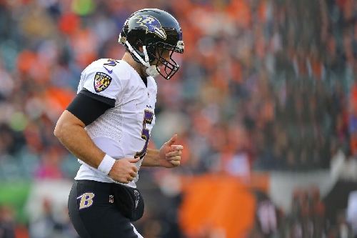 Is Joe Flacco still part of the Ravens Solution?