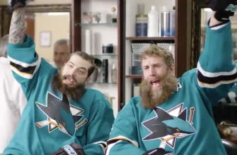 Brent Burns and Joe Thornton go wild for facial hair in hilarious Sharks ad