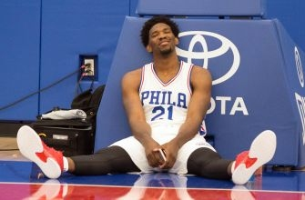 Philadelphia 76ers Season Ending Starting Lineup