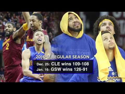 Cleveland Cavaliers vs. Golden State Warriors: Recent results between the rivals (video)
