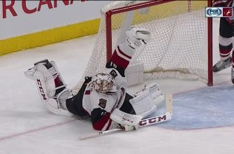 WATCH: Mike Smith's stone cold save on Jordan Eberle's breakaway