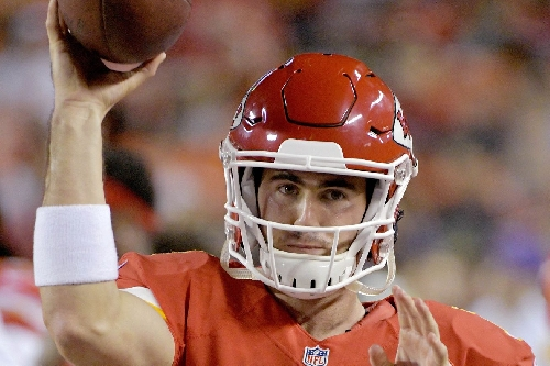 Former Chiefs QB Aaron Murray gets a look from the Panthers
