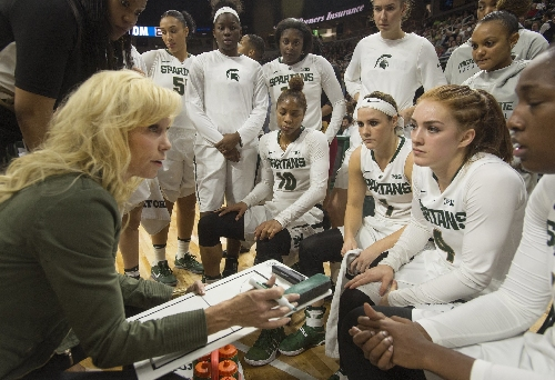 Michigan State women's basketball coach Suzy Merchant takes medical leave of absence