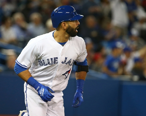Jose Bautista is taking less money to stay with Blue Jays