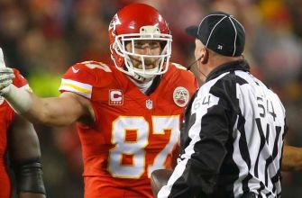 Foot Locker corrects Chiefs tight end Travis Kelce after he ripped the refs