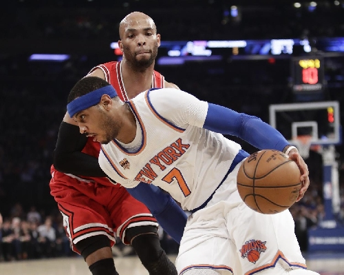 As Knicks tumble again, Carmelo's future may be all to watch The Associated Press