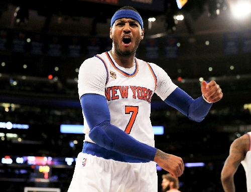 Anthony reportedly keen to stay with floundering Knicks
