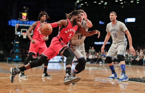 Even with Kyle Lowry resting, Raptors crush Nets