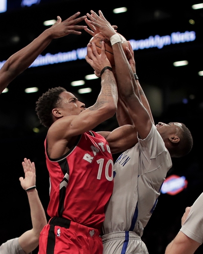 DeRozan scores 36, Raptors hand Nets 11th straight loss The Associated Press