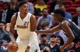 Heat knock of Rockets despite Harden's 40-point triple-double
