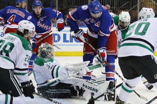 Rangers Fall To Stars 7-6 In Wild Game At MSG