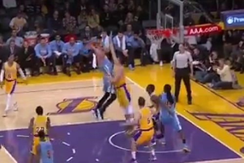 Lakers Highlights: Ivica Zubac blocks Nikola Jokic to make his case for Rookie of the Year