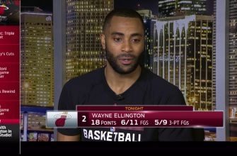 Heat's Wayne Ellington says competitive practices carried over into game