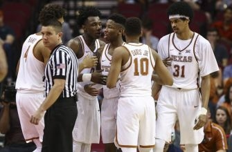 Texas Basketball Pushed Around in Loss to Baylor