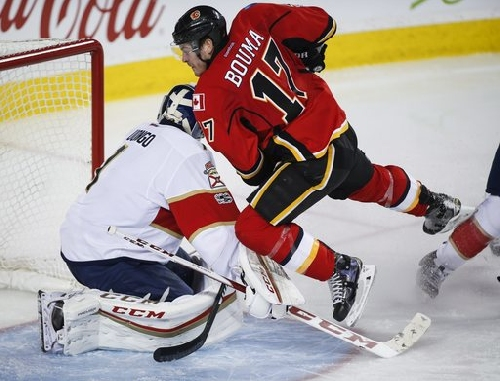 Backlund scores twice in 13 seconds, Flames beat Panthers The Associated Press