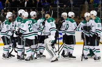 Dallas Stars Sneak Out With Ugly 7-6 Win Over Rangers