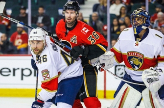 Trocheck scores twice, but Panthers fall to Flames