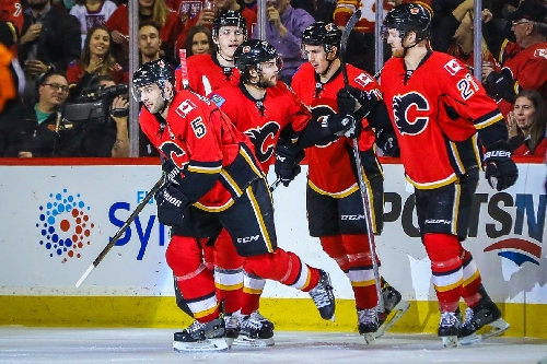 Dominant Effort Leads the Flames to a 5-2 Win Over the Panthers