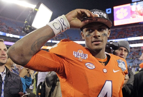 Report: Browns won't get to coach Clemson QB Deshaun Watson in Senior Bowl because he won't attend