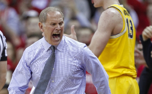 Frustrated John Beilein deems fouls vs. Wisconsin as 'confusing,' leaves it at that