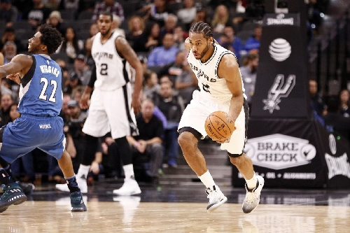 Spurs execute in second half, beat Timberwolves 122-114