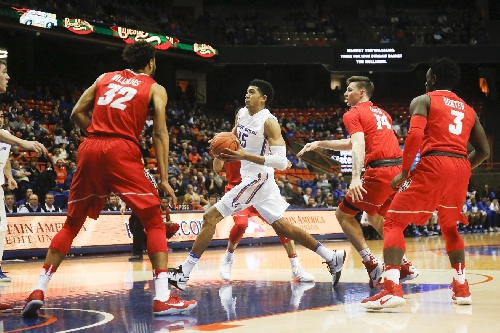Williams, Brown help New Mexico hold off Boise St, 81-70 The Associated Press