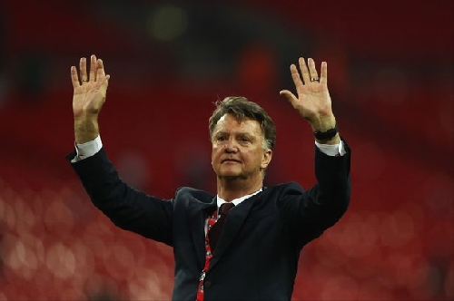 Former Manchester United manager Louis van Gaal does a U-turn