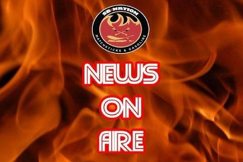 NOF: Flames Win, News From Behind Enemy Lines, Scores and Today's Games
