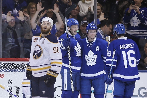 Recap: Sabres blow another early lead, lose to Leafs 4-3