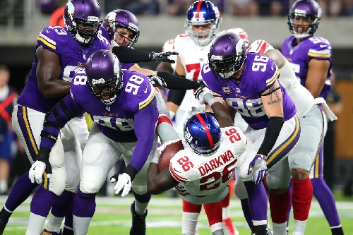 Pro Football Focus Gives Vikings' Front Seven High Marks