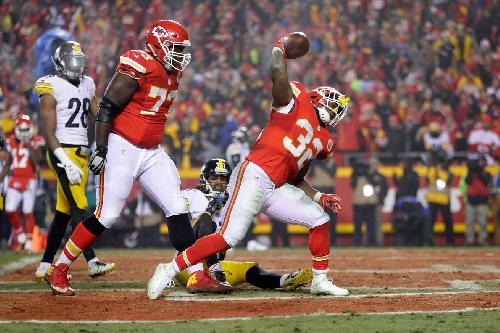 Spencer Ware apologizes to Chiefs fans for playoff loss, talks new brand, Super Bowl pick