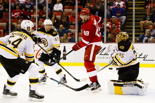 Bruins vs. Red Wings 1/18 Complete Coverage