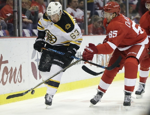 Red Wings' lineup vs. Bruins: No changes as Detroit seeks traction at home